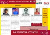 Achieve your desired score in IELTS with an EPIC Guarantee