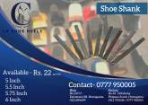 Shoe Heels, Shank and Sole Available