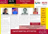Why waste money by repeating the IELTS examination …? Prepare with EPIC
