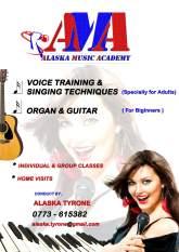 VOICE TRAINING & SINGING TECHNIQUES
