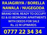 Luxury Apartments for Sale in Sri Lanka