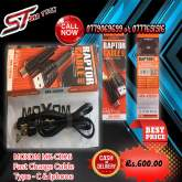 MOXOM MX-CB26 Fast Charge Cable Type - C & IPhone