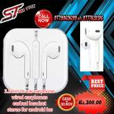 3.5mm In-ear earphone wired earphones earbud headset stereo for android ios