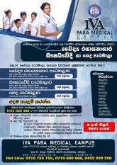 Nursing/Pharmacy/Medical Laboratory Technician Courses