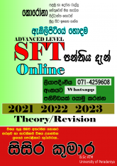 SFT Class Online/Hall/ Group/individual