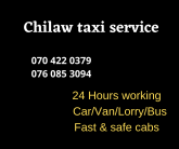 Chilaw Taxi Service (Vcabs)