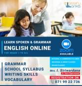 Learn spoken & Grammar online