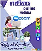 Grade 6 to 11 - Online Mathematics Class