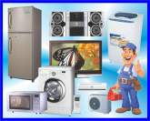 Tv, led, lcd, dvd, fridge, microwave oven, washing machine, domestic air conditioner, CCTV cameras, laptops and computer's.