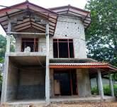 Half build house for sale
