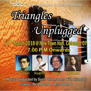 Triangles Unplugged Concert