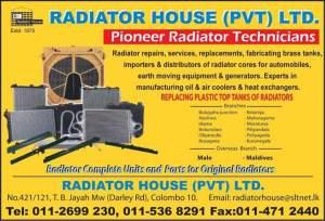 Radiators and Radiator Repairs & Services